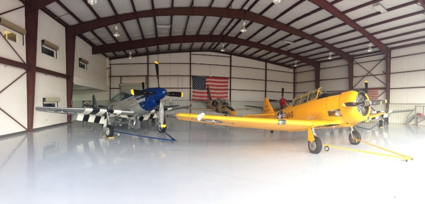 2014 - We expanded our partnership to work with the team at Stallion 51, the Mid-Atlantic Air Museum, and hosted a workshop at the first Atlanta Warbird Weekend.
