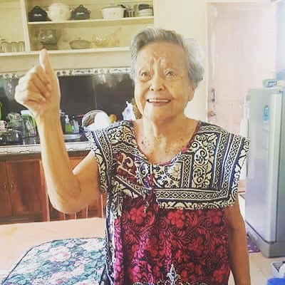 Whether it was dancehall, a tv show theme song, or even infomercial music my grandmother would get up and dance to everything. It's that lovely dance spirit that will continue to live with me. Goodbye Lola, you were such a beautiful soul in our family.