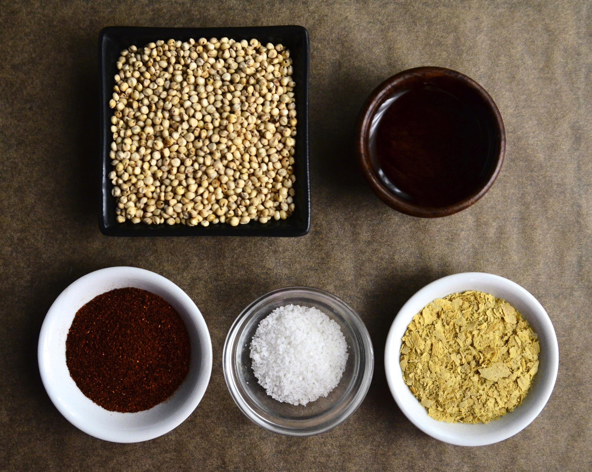 Popped Sorghum with White Truffle Oil + Chili Cheese{dairy-free} Seasoning | Seed Plant Water Grow