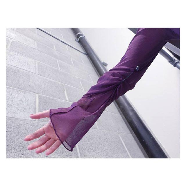 Magenda... sleeve detail . . . . #silentcollection #silkshirt #pinkshirt #handfinished #limitedcolor #natalyaegorova_collection #madenyc #sanfranciscodesigner #sustainablefashion