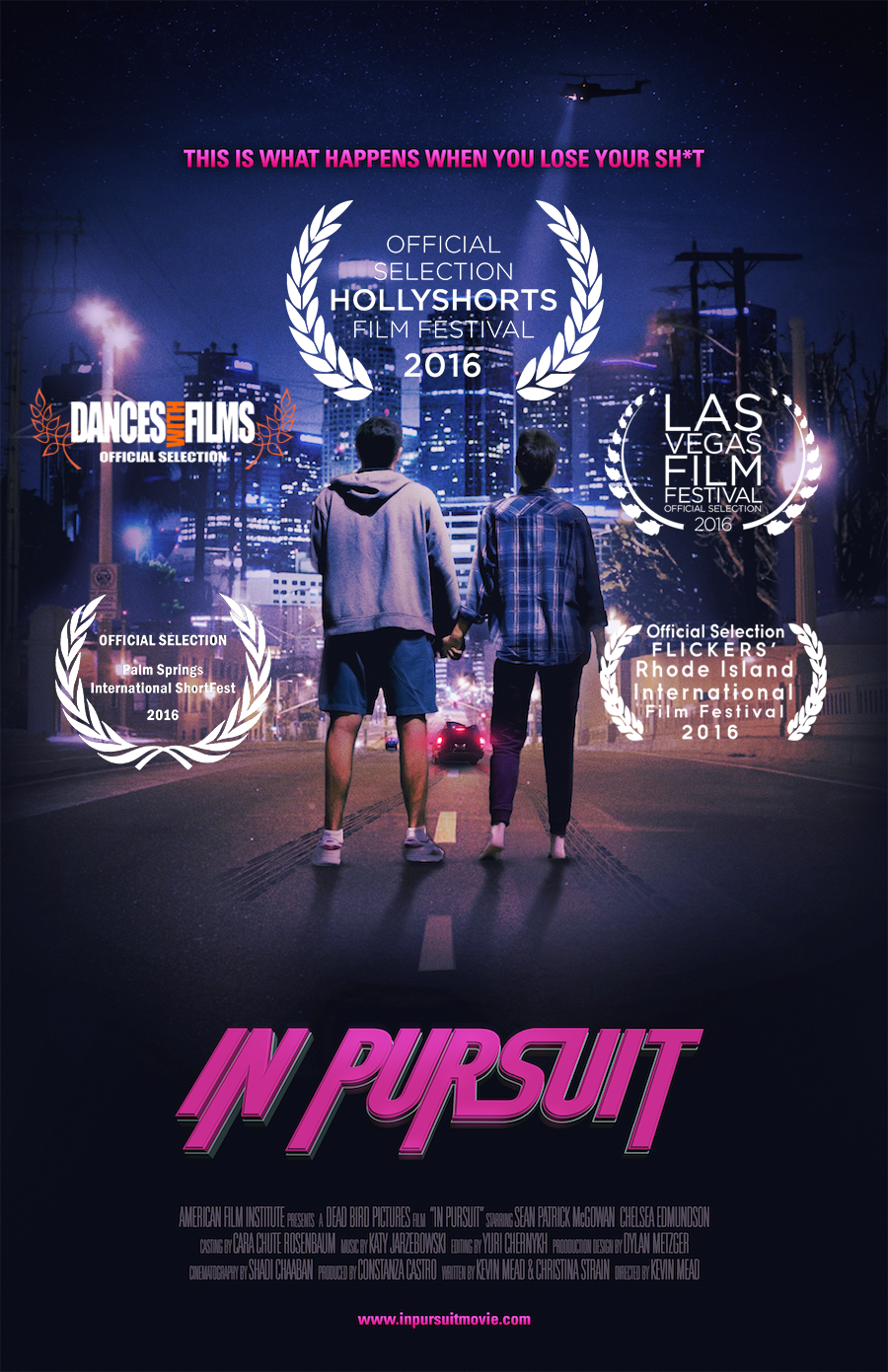 In Pursuit (2016) - Kevin Mead