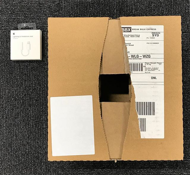Kia ora @apple - awesome service but time to do something about the packaging!  #savetheplanet #packaging #fail #unboxing