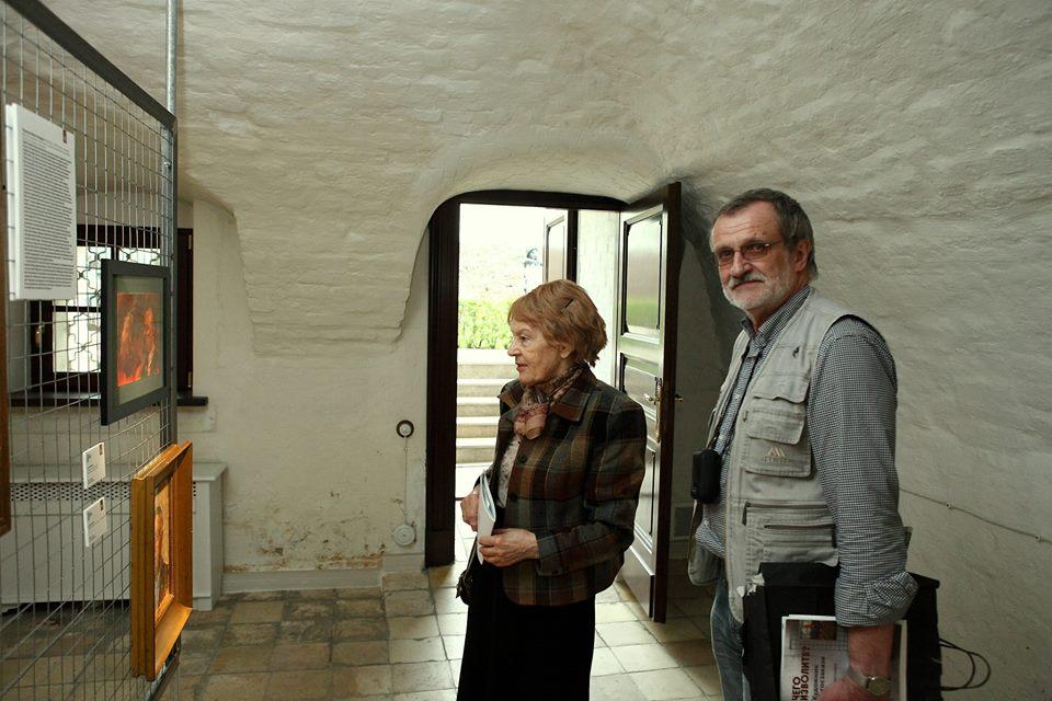 Наталия Сергеевна Романович с супругом.