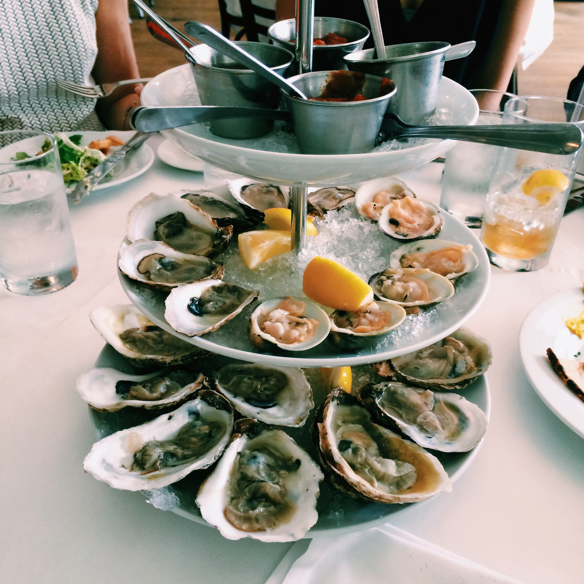 local clams and oysters at Noah's- photo by  already_eaten