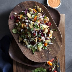 Oval Salad Board