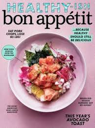 Subscription to a food magazine or the New York Times