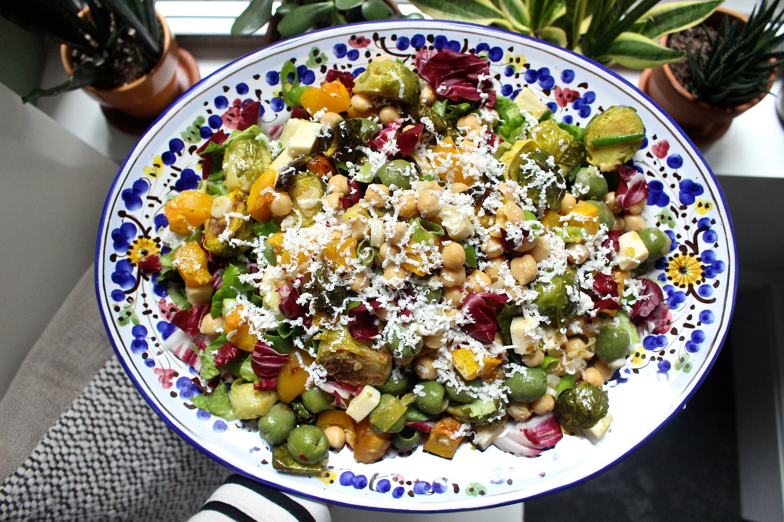 The simplified version of the Che Fico chopped salad