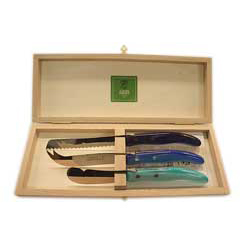 Laguiole Cheese Set