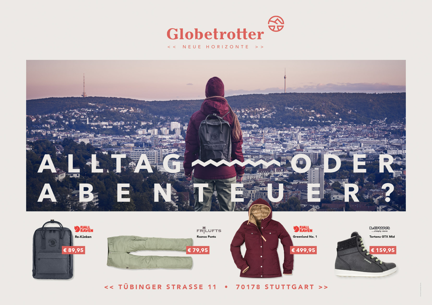 Globetrotter Citylight  AGENTUR: b612  POSTPRODUKTION: bildgudt Lars Christiansen