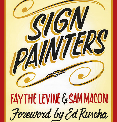 the book Sign Painters, is available on line at amazon and others