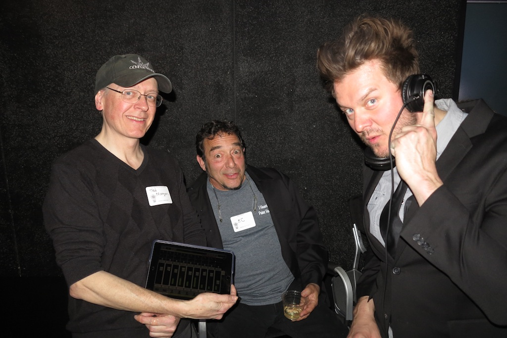 In-Kind Gold sponsors  Conduit Sound  live mixed the music and audio at the All Crew Party.