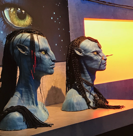 Avatars on display at CINEGEAR 2018