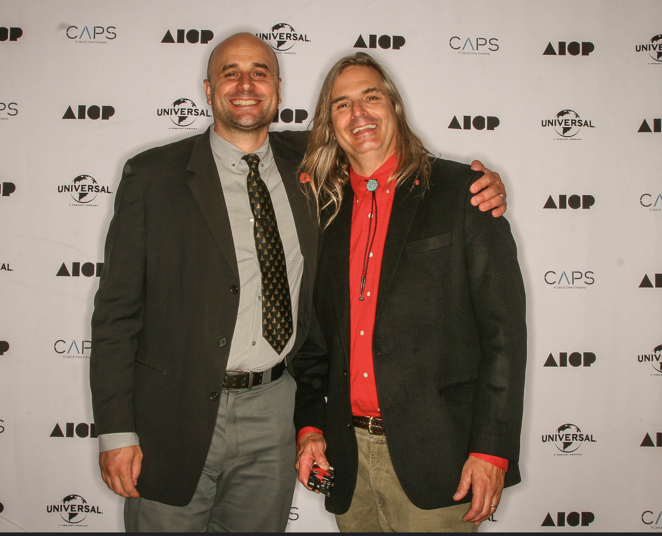 AICP MN Vice President Ace Allgood hits the Red carpet.