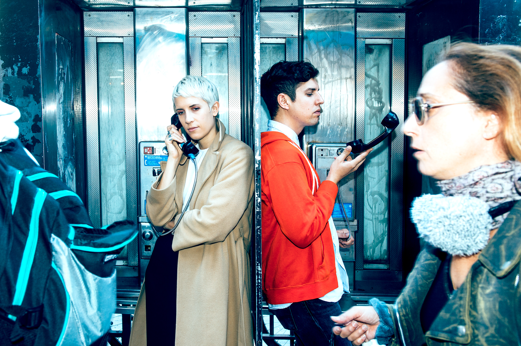 Yacht's Claire Evans and Jona Bechtolt photographed by Chad Kamenshine