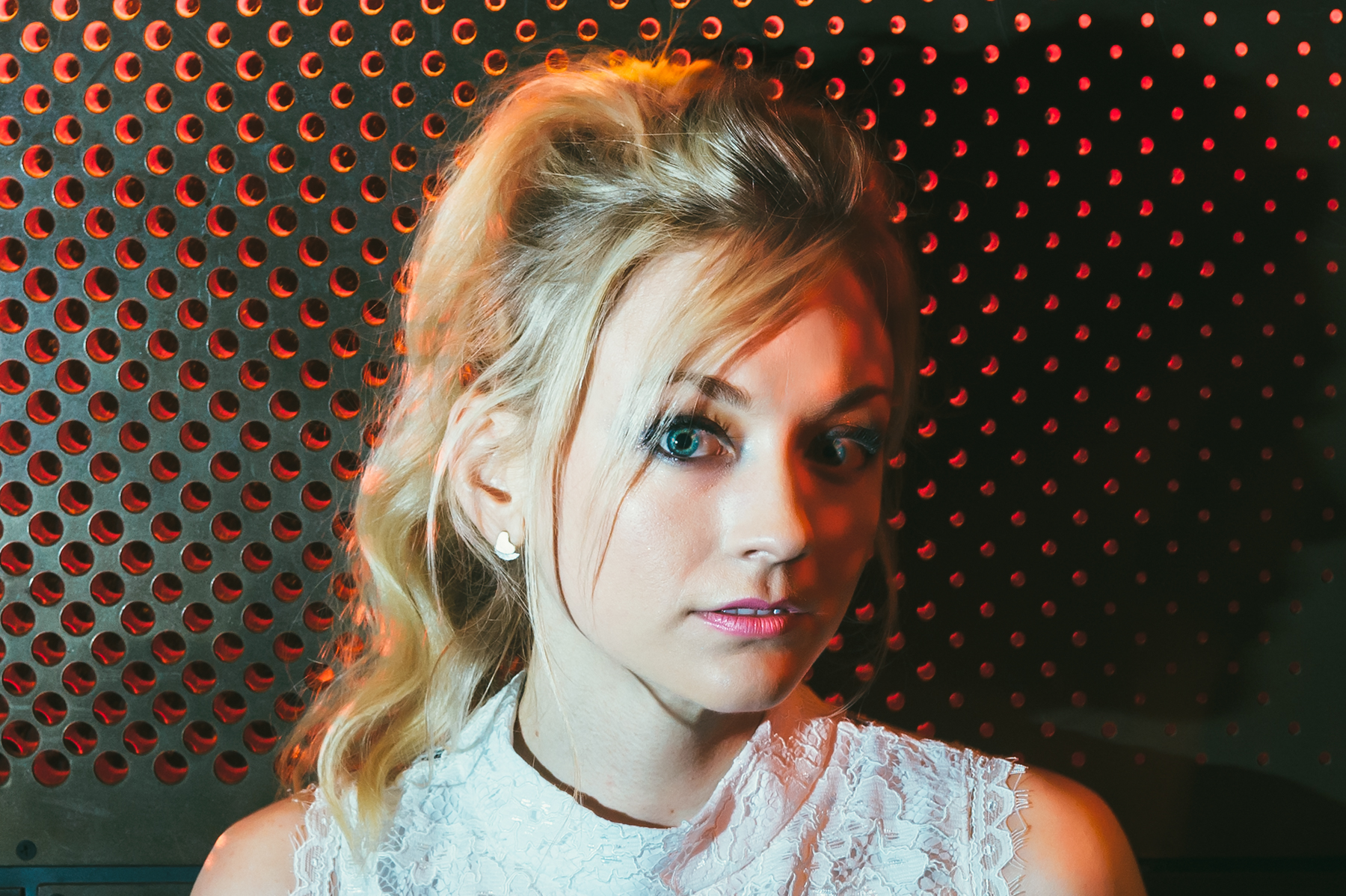The Walking Dead's Emily Kinney photographed by Chad Kamenshine