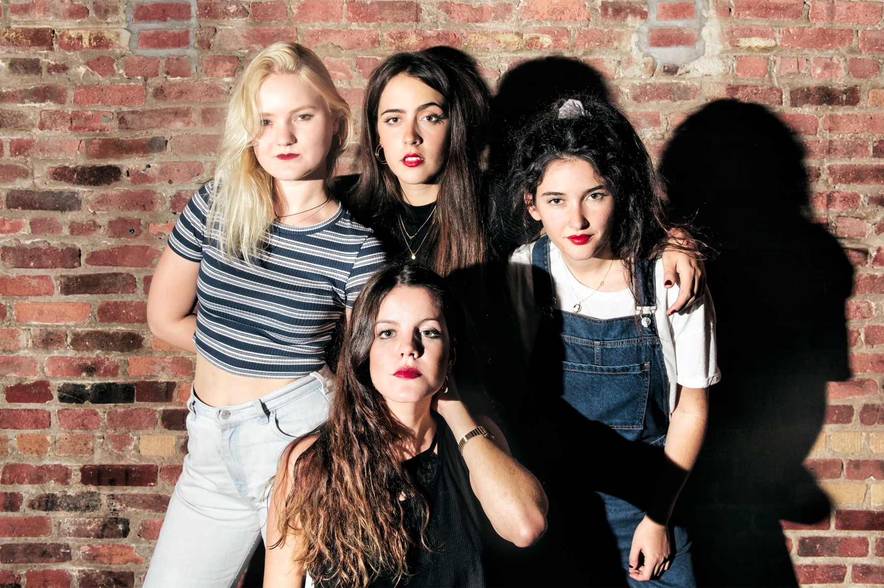 Hinds' Amber Grimbergen, Ana Perrote, Ade Martín, and Carlotta Cosials photographed by Chad Kamenshine