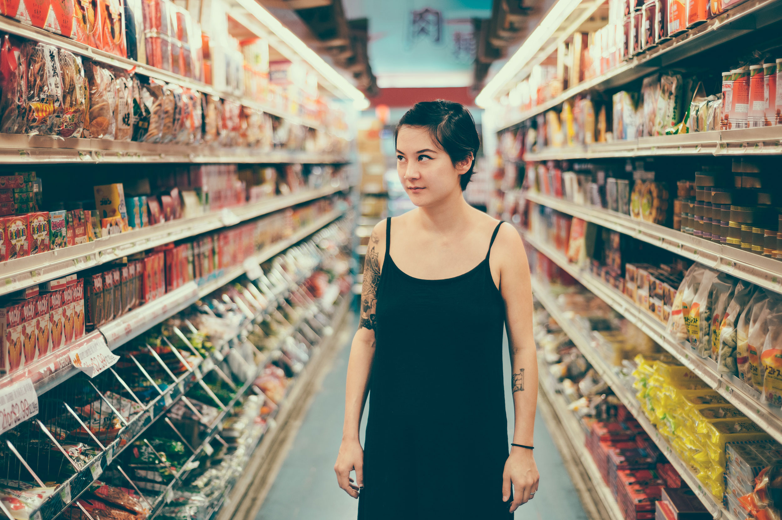 Japanese Breakfast's Michelle Zauner photographed by Chad Kamenshine