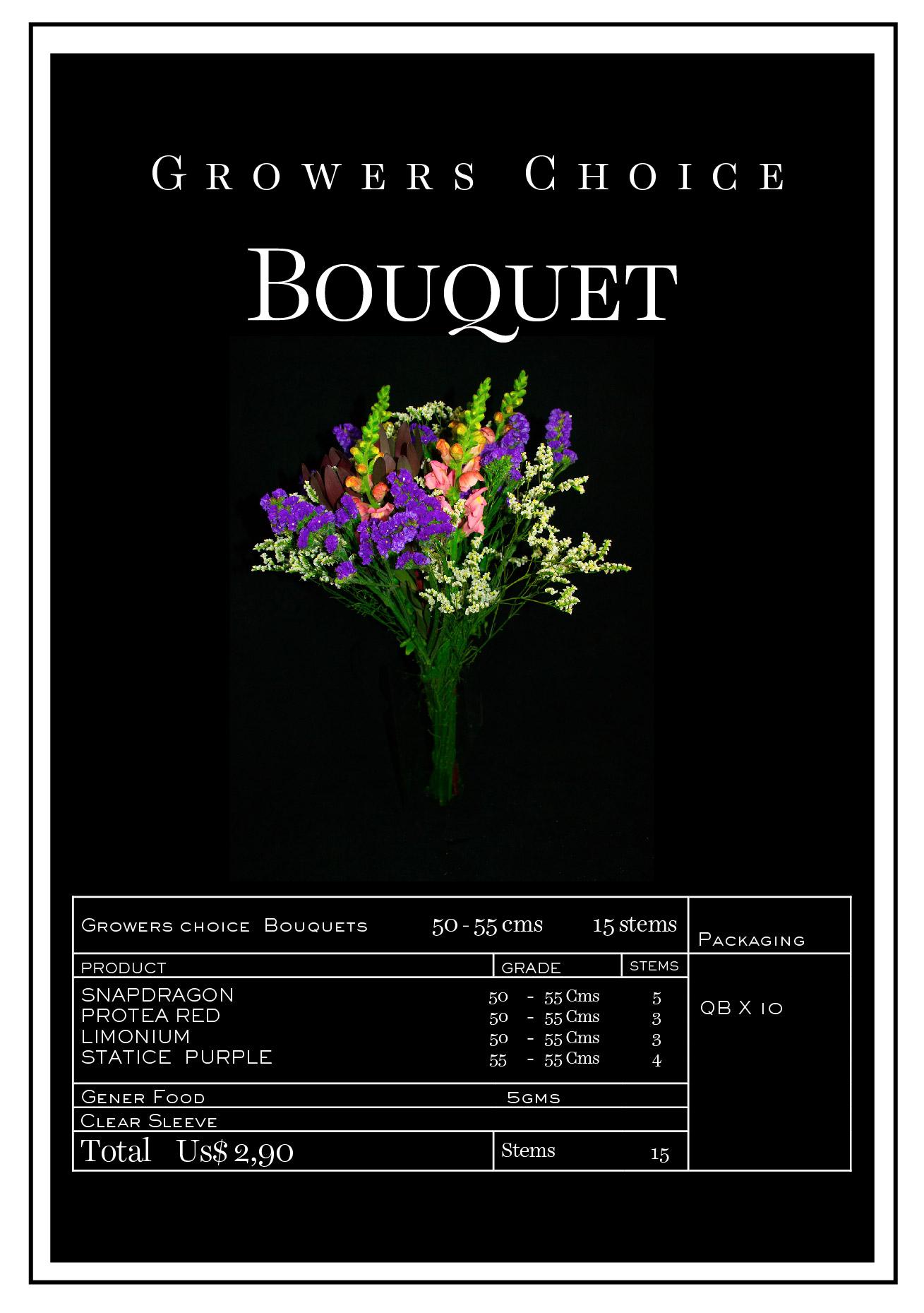 Bouquet Snapdragon