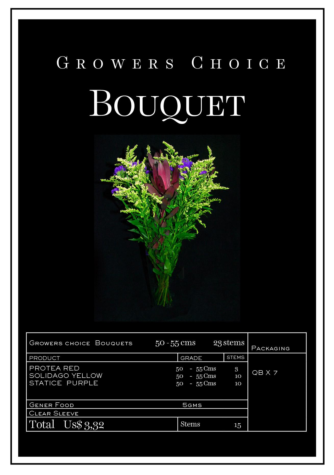 Bouquet Solidago