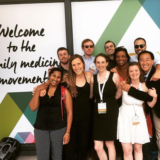 Last year at 2016 NCFMR. Looking forward to another great week this year! #NCFMR #AAFP #FamilyMedicine