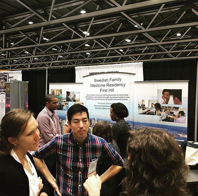 The present of Family Medicine engaging with the future of  Family Medicine! #AAFPNC #FamilyMedicine