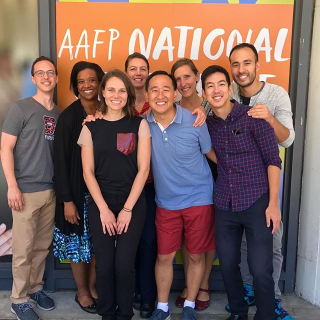 Wrapping up another year at #aafpnc