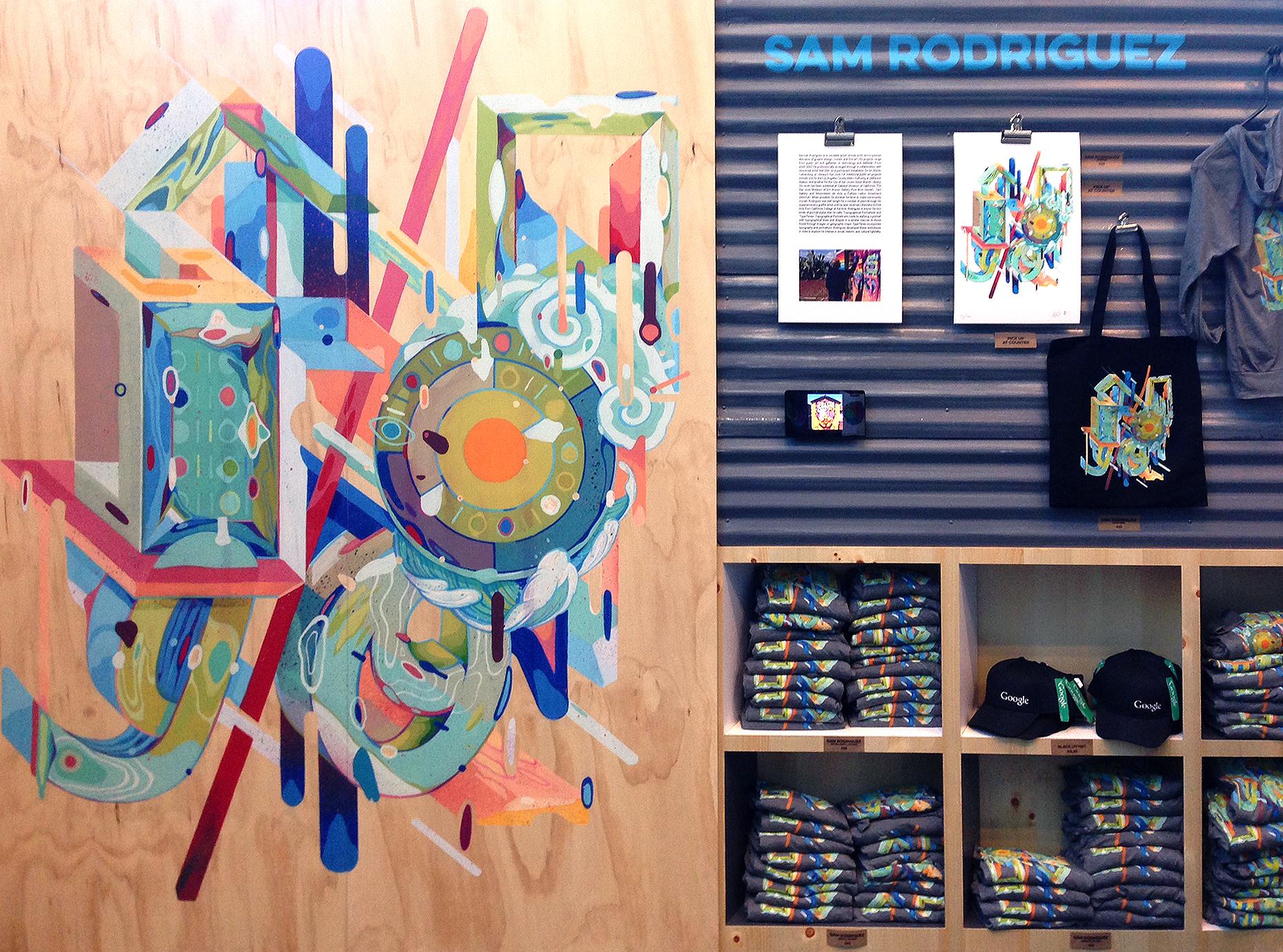 Google I/O | Sam Rodriguez Art