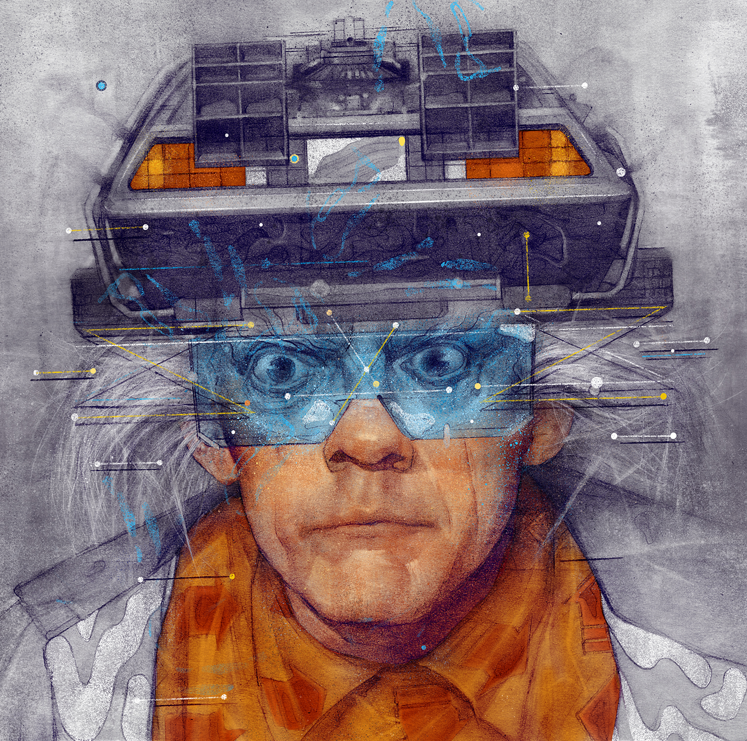Back To The Future   Sam Rodriguez Art