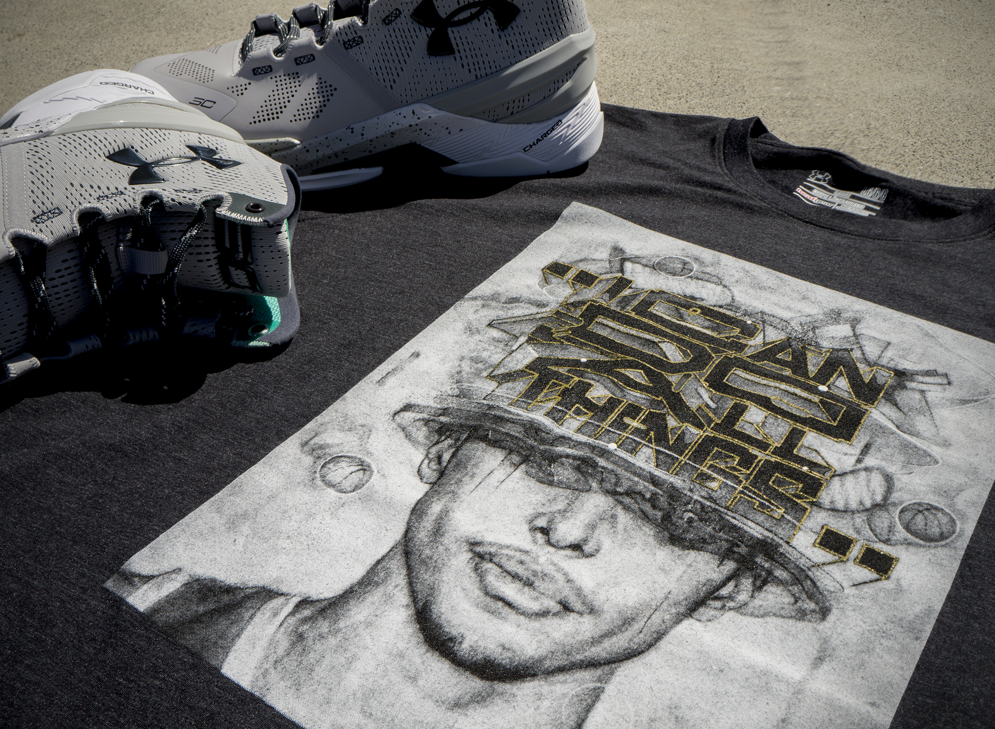 Steph Curry T-Shirt Detail