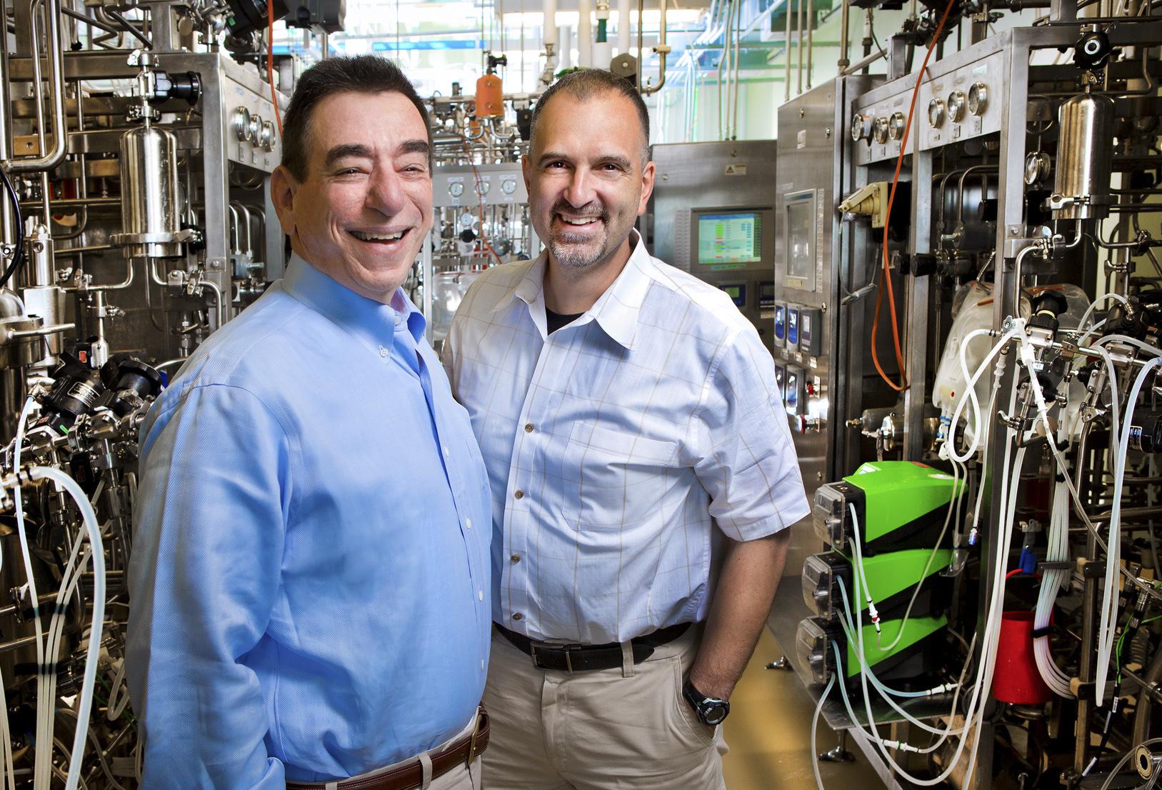 Len Schleifer + George Yancopoulos