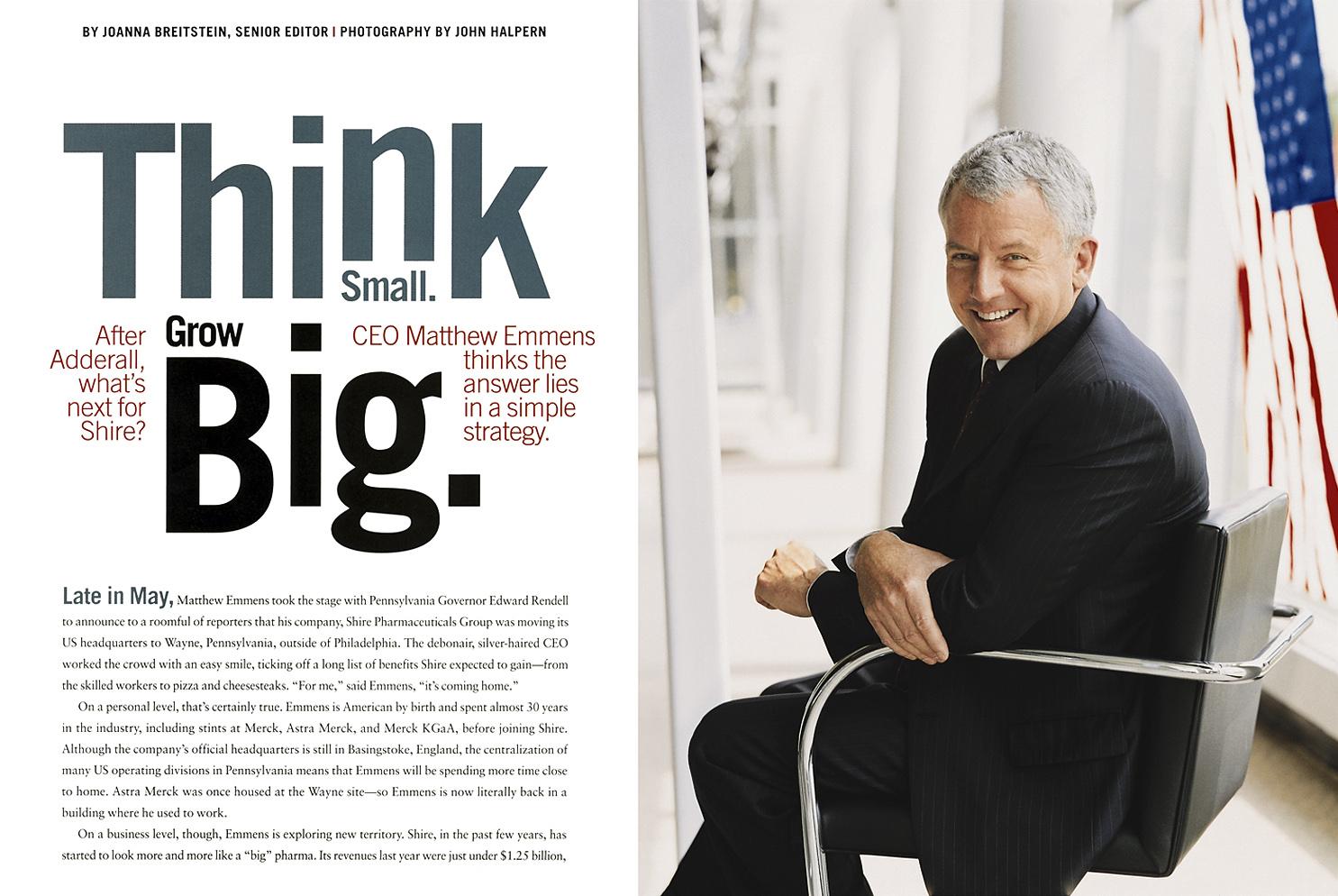 Pharmaceutical Executive Magazine