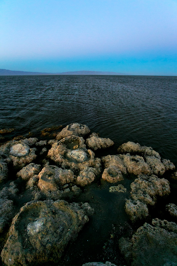 View across the Salton Sea. ©2014 John Halpern