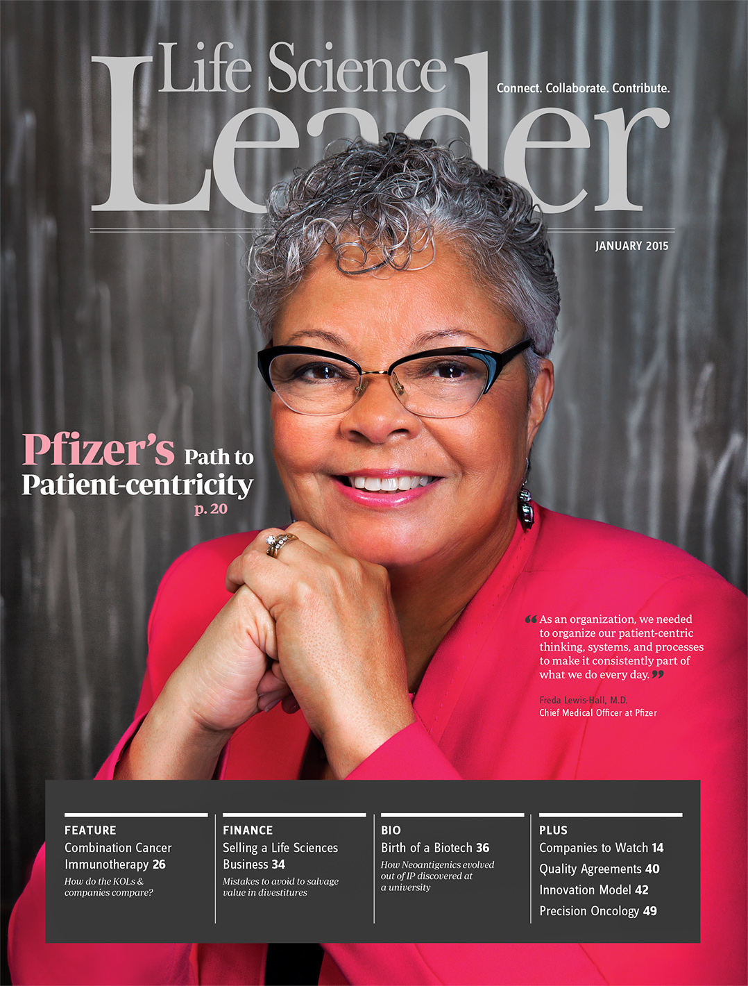 Life Science Leader Magazine