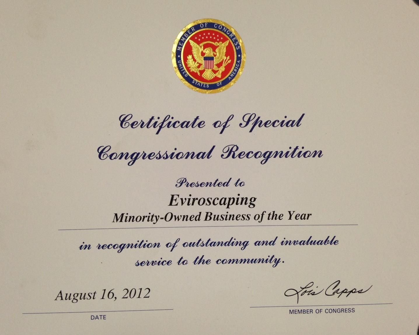 Congressional award photo.JPG