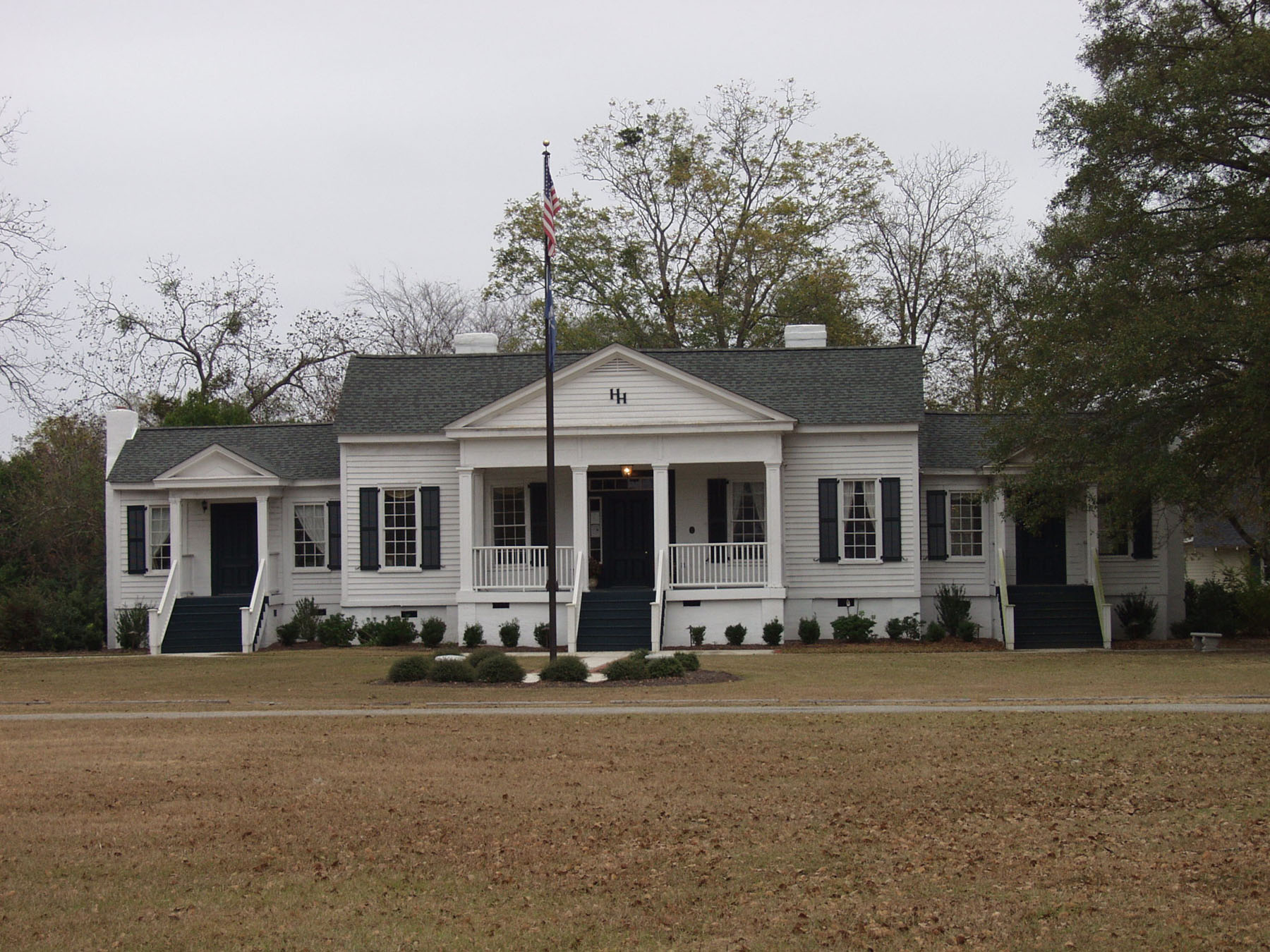 Historic Hoffman House/Town Hall built in 1855.  Photo by Jim McLean