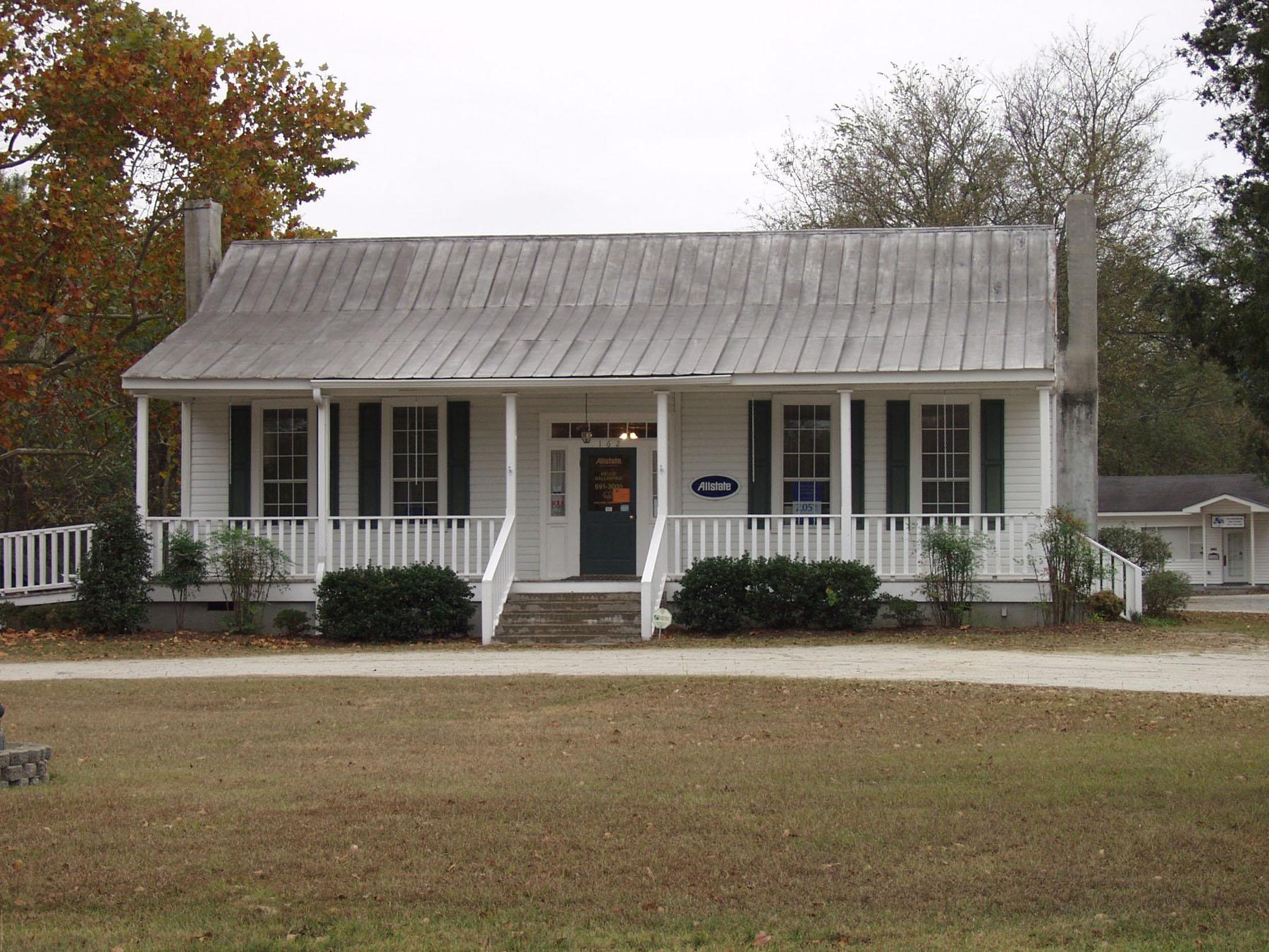 Boney Hykil House built in 1859.  Photo by Jim Mclean