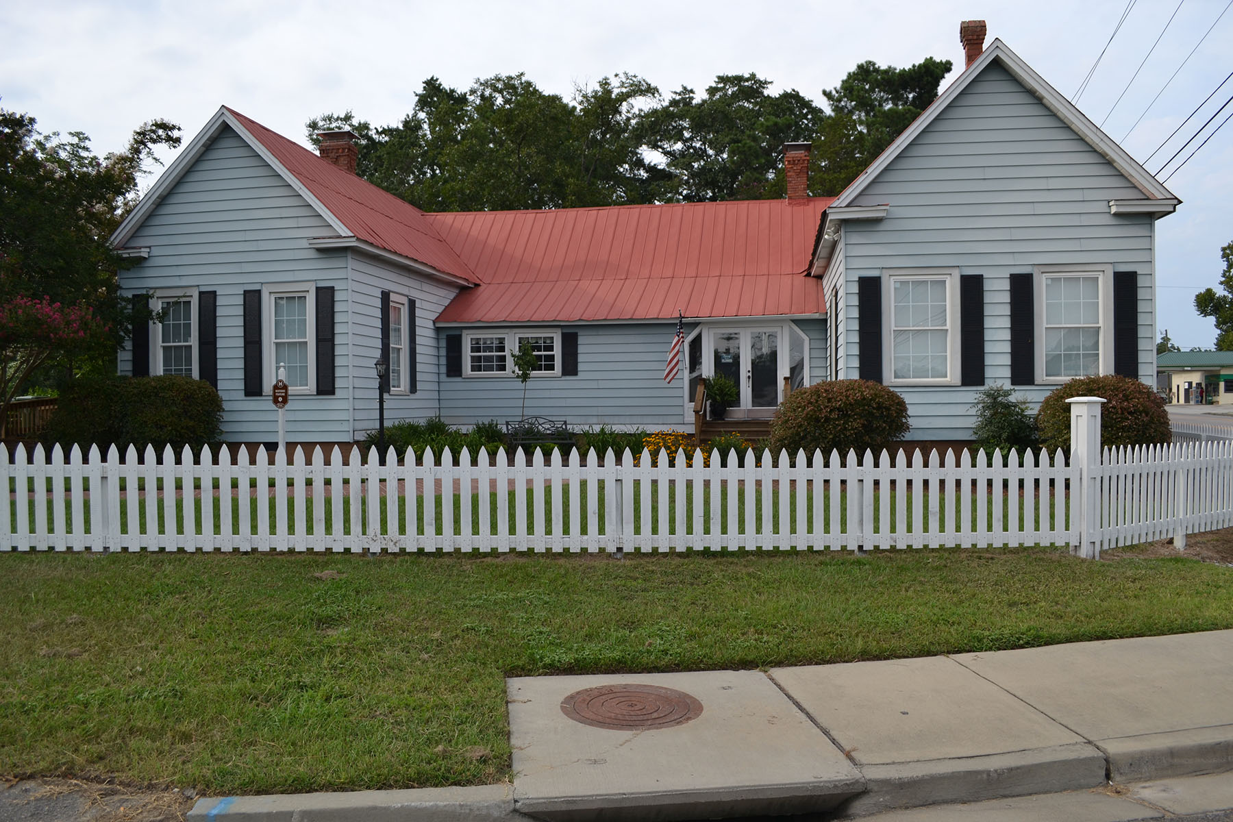 Langford/Nord House built in 1895.  Now home of the Blythewood HistoricalSociety.  Photo by Jim McLean