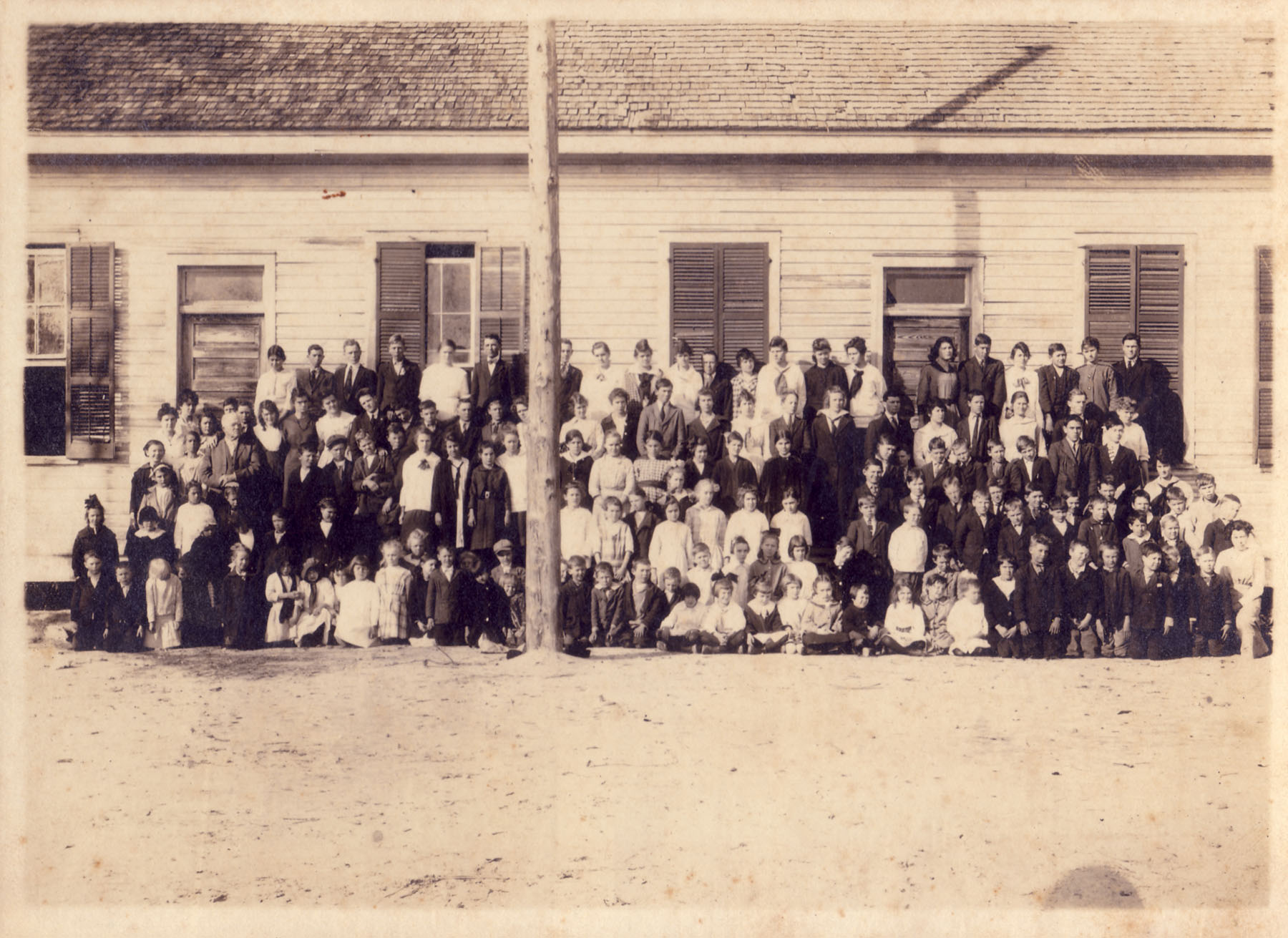Original Blythewood School about 1900