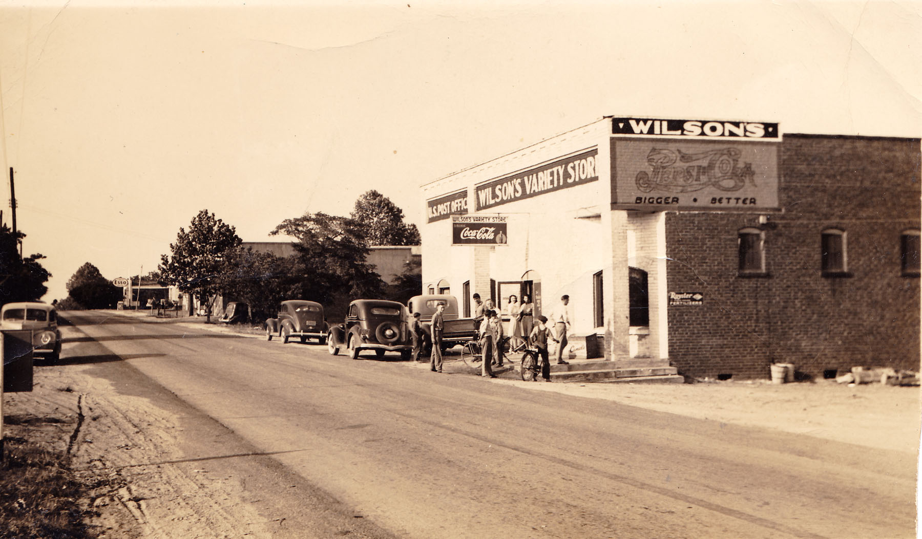 Town Center about 1940.
