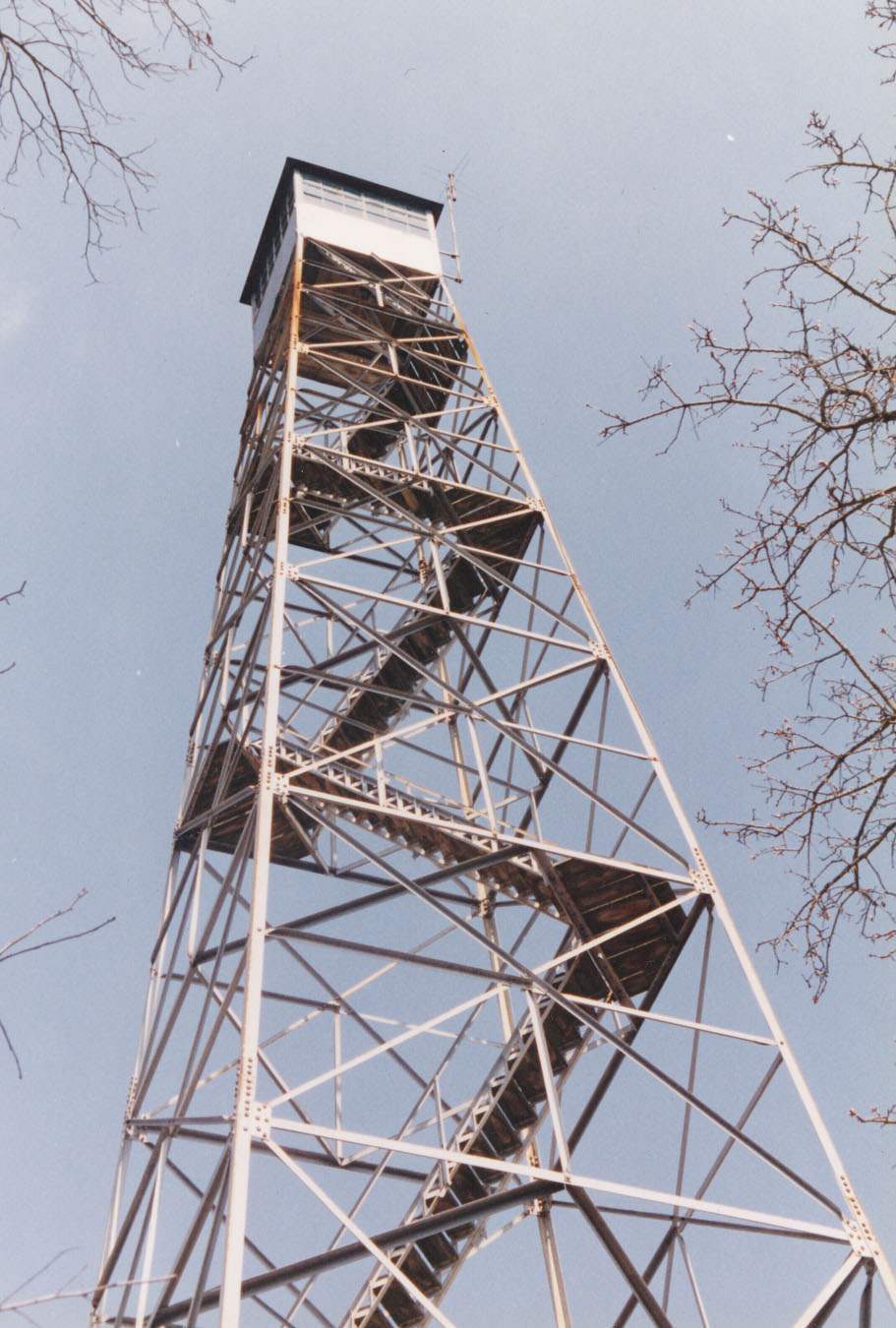 Blythewood Fire Tower.  Operated by Pete and Louise Cook.