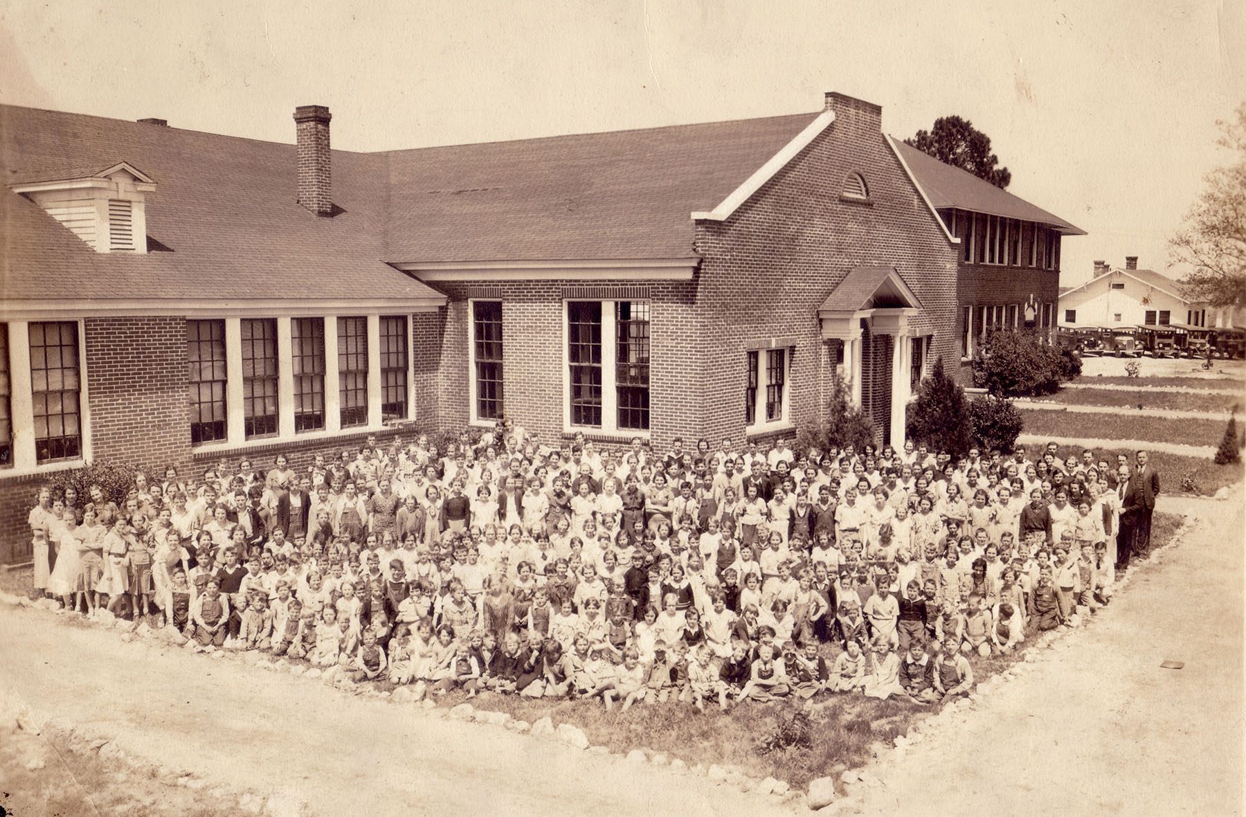 Blythewood School about 1930.