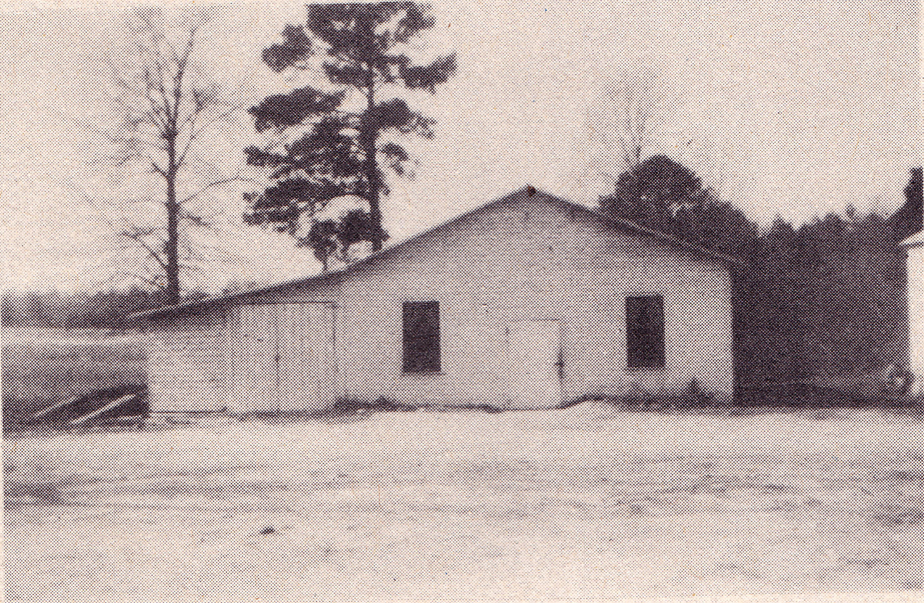 Blythewood School Cafeteria early 1950's.