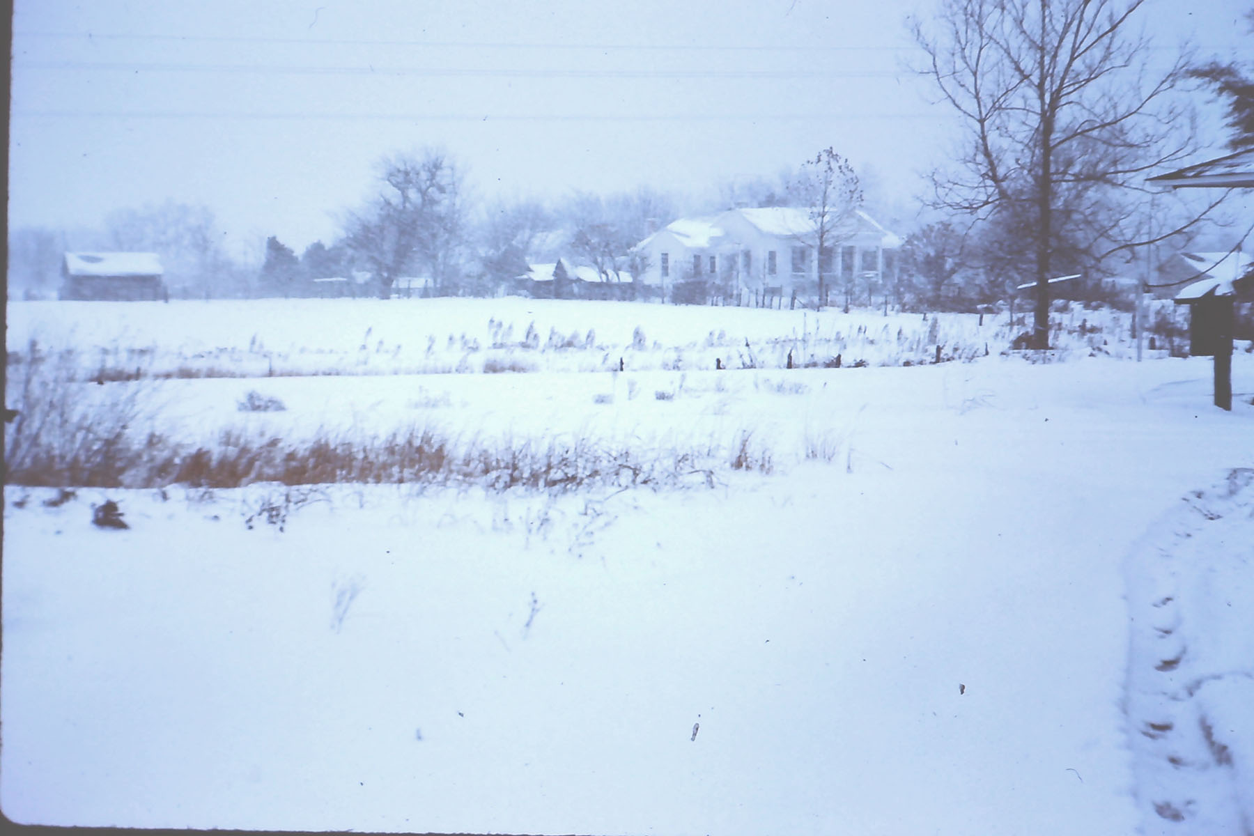 View of Hoffman House in late 1940's.  Photo by Hudnalle McLean Sr.