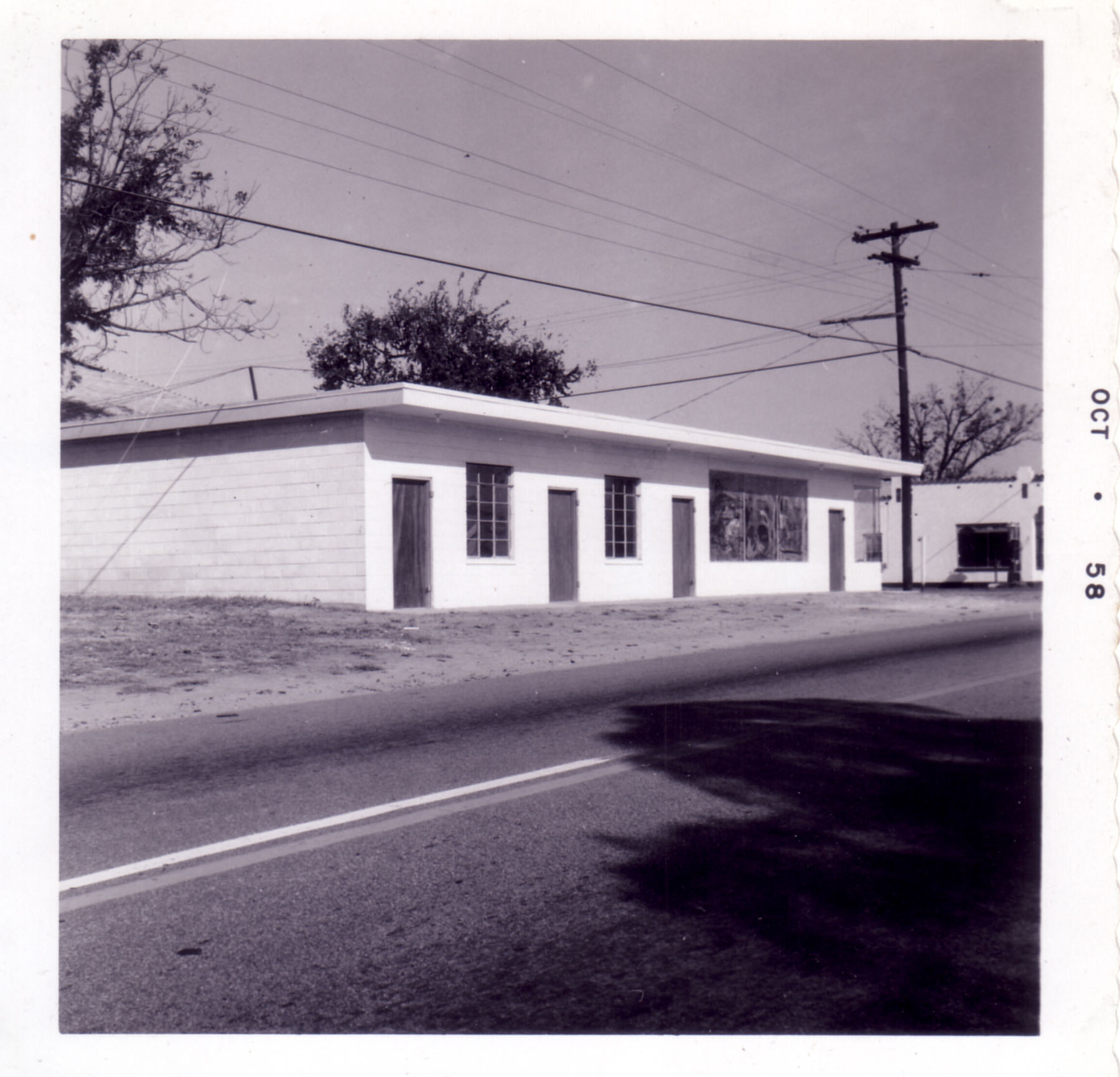 Felix Rimer's Office Building.  Located at the corner of Main Street and Blythewood Rd.  Photo by Hudnalle McLean Sr.