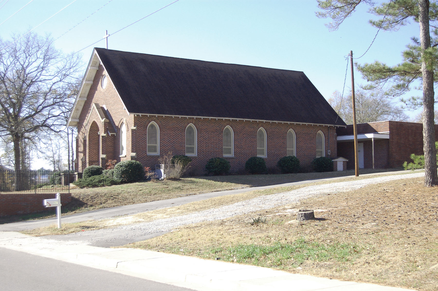St Marks Lutheran Church located on Main Street.  Church Organized in 1885.  Photo by Jim McLean.