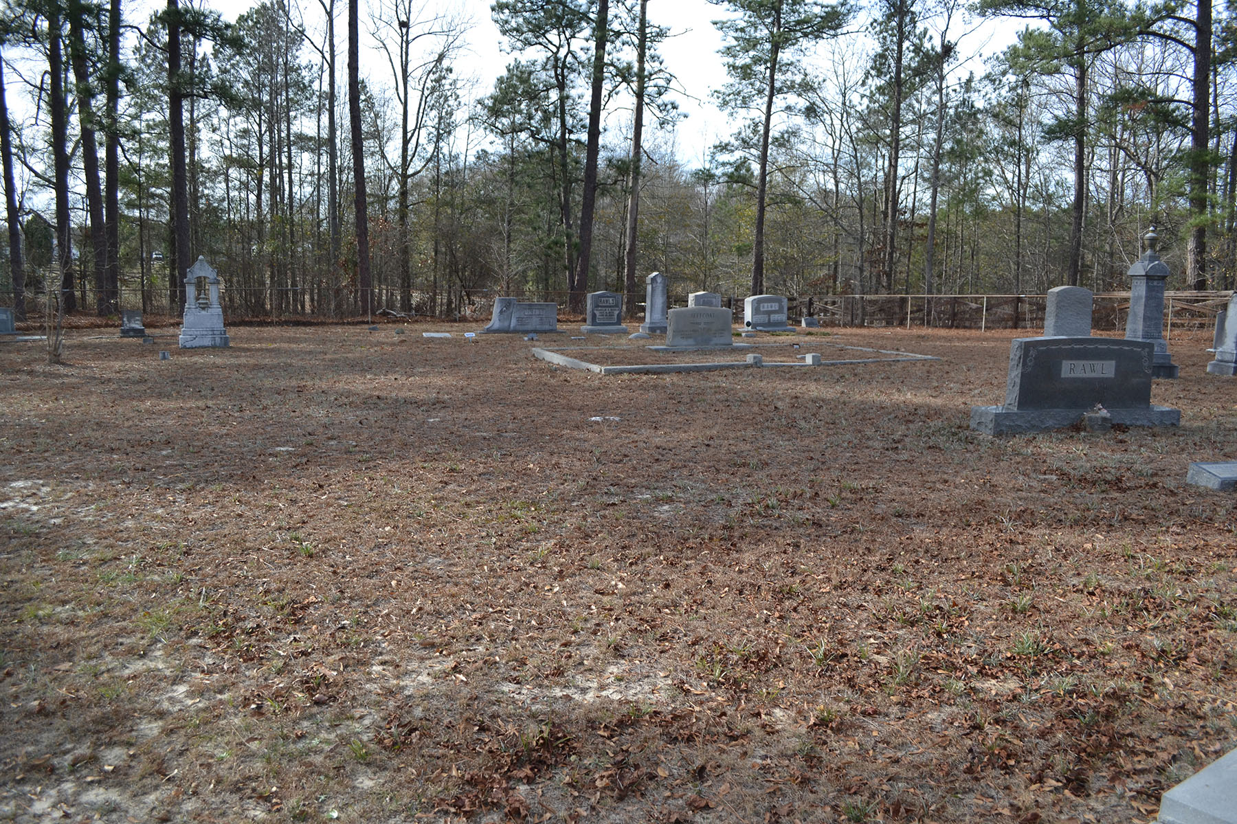 Original St Mark's Cemetery located at intersection of Blythewood and Fulmer Roads.  Photo by Jim McLean