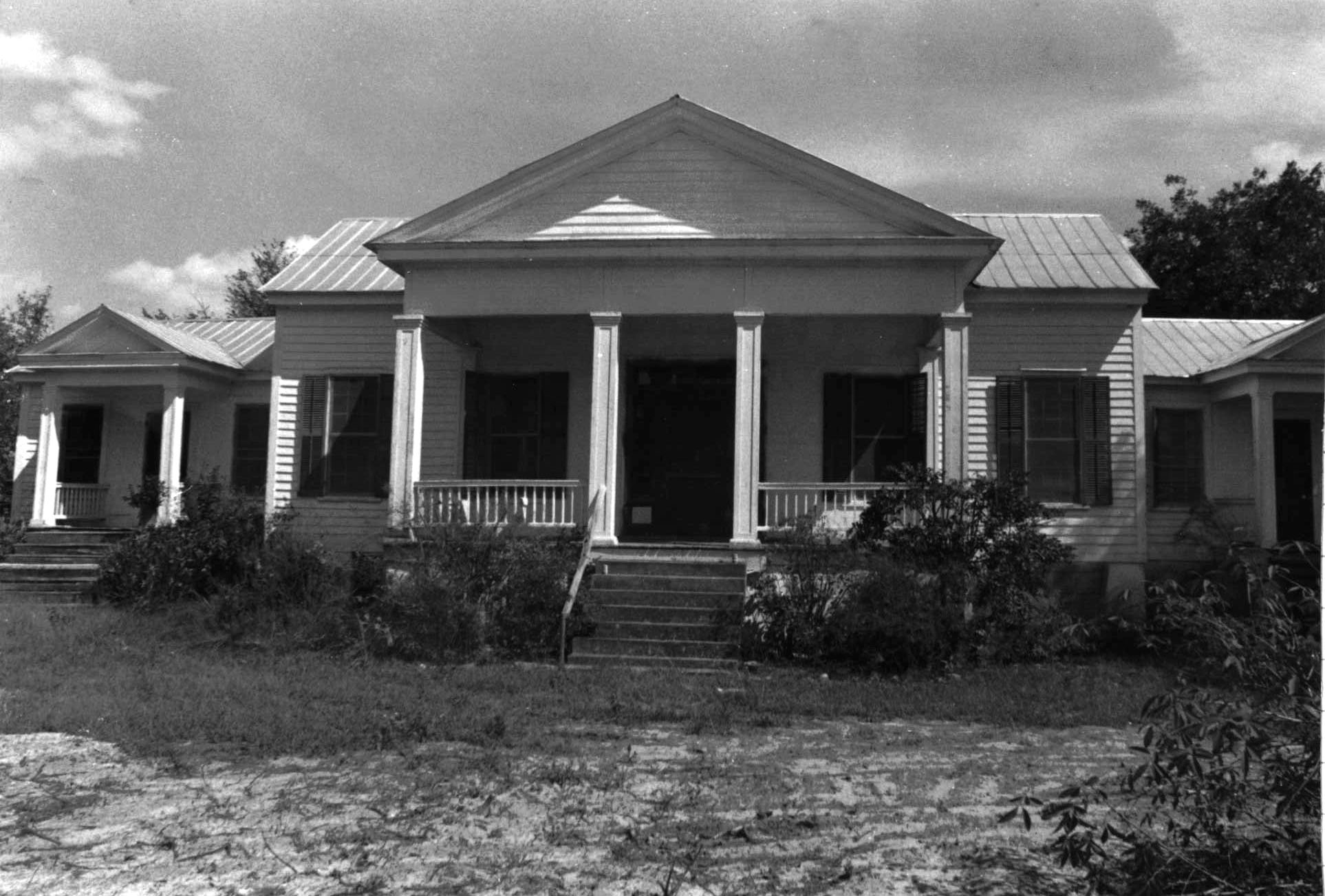 Hoffman House Prior to Restoration.  Source: SC Department of Archives and History.