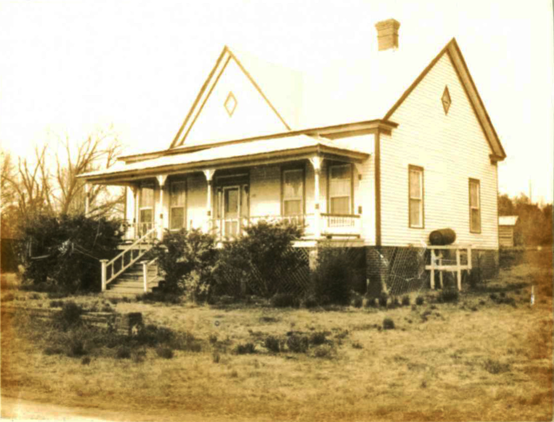 John Allen Hagood House:  Source: S.C. Dept. of Archives and History.