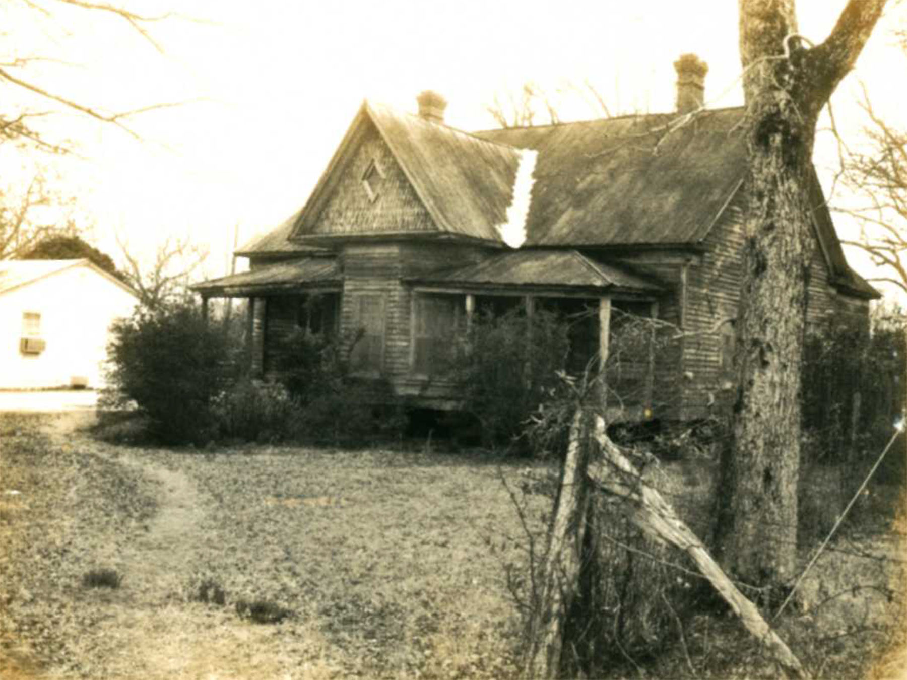 Clark Langford House.  Source:  S.C. Dept. of Archives and History.