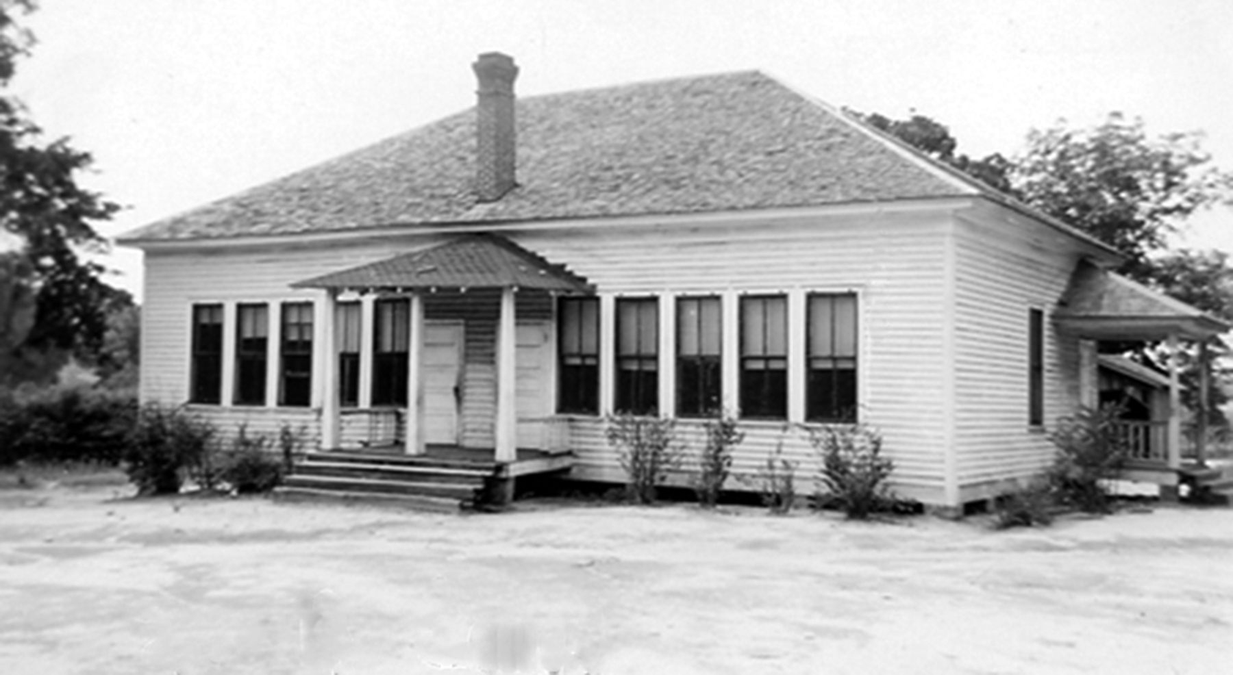 Level School about 1932.  Photo courtesy of SC Department of Archives and History.